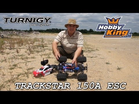 Turnigy TrackStar 150A brushless car esc