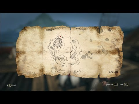 Black flag twenty one treasure map 679.381 assassins creed 4 (21/22)