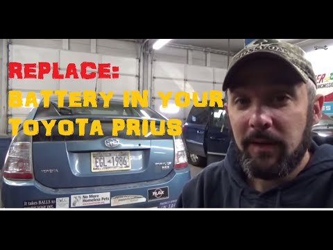 Replace Battery - Toyota Prius