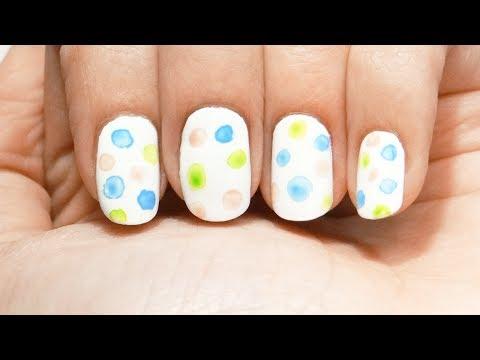 Uñas de manchas de pintura acrilica acrylic paint spots nails OUMAXI review Sammydress