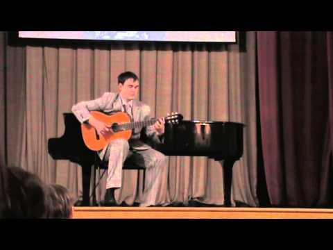Доменикони Карло - Вариации на тему анатолийской народной песни для гитары