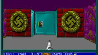 Wolfenstein 3D Episode 1, Floor 10 (Secret Level)
