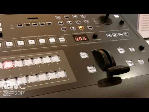 ISE 2017: A Systems Talks About AV800HD 8×5 Multi-Format HD Video Switcher
