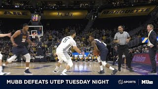 MUBB defeats UTEP to stay undefeated at Fiserv Forum