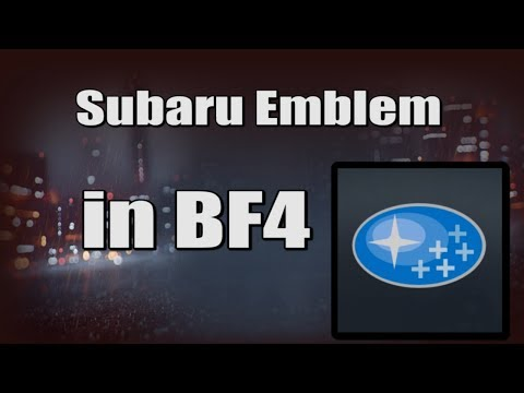 Subaru Emblem in BF4 - Battlefield 4 Emblem Creator