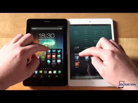 ASUS Fonepad vs iPad mini