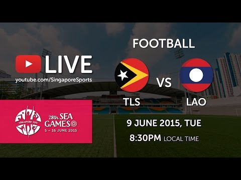 Football Timor Leste vs Laos (Bishan Stadium Day 4) | 28th SEA Games Singapore 2015