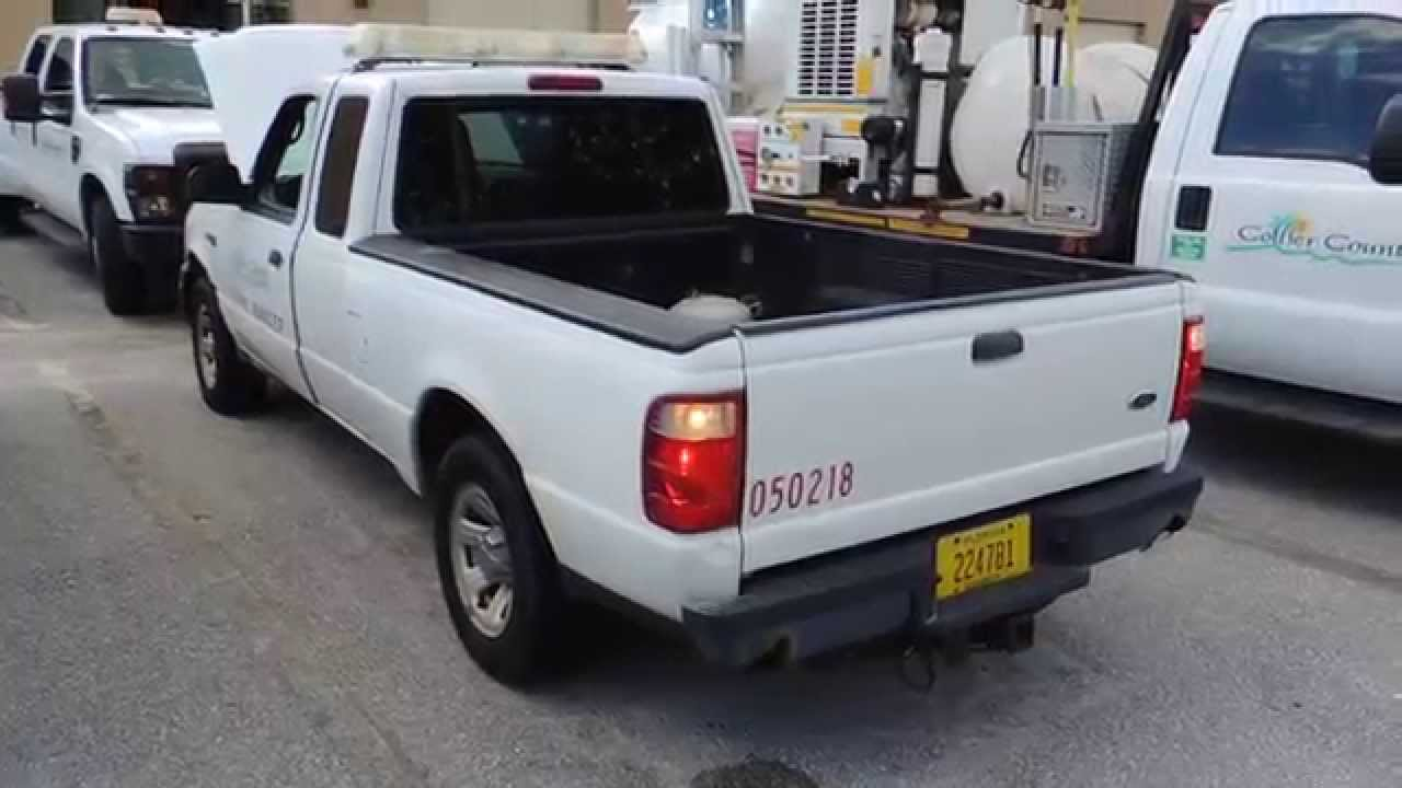 item 3 collier county fl equipment and vehicle auction 2005 ford ranger extended cab 4x2 youtube. Black Bedroom Furniture Sets. Home Design Ideas