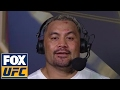 Mark Hunt explains how he got the win over Derrick Lewis | UFC FIGHT NIGHT