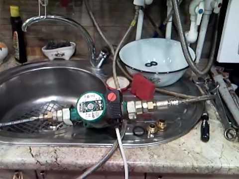 Как промыть теплообменник гвс котла бакси видео материал для теплообменников