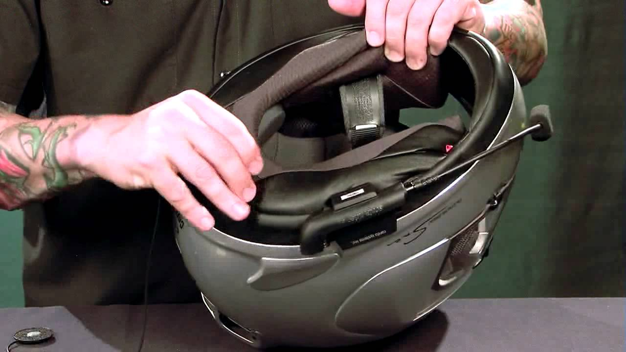 How To Install A Cardo Scala Rider G4 Helmet Communication