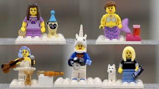 LEGO Rosanna, Cassey, Lindsey and Lilly minifigures!