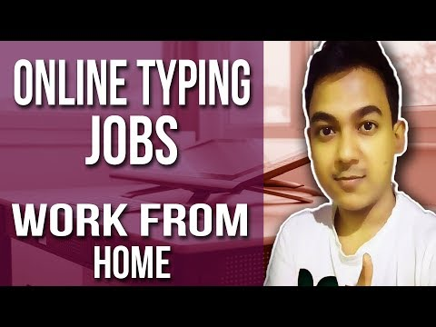 Online Typing Jobs  Work From Home Job  Episode #1