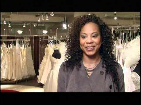 Sanya Richards  Platinum Weddings in St. Pucchi Bridal Gown