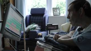 Locked-in syndrome patient Tony Nicklinson's first Tweet | Dispatches | Channel 4