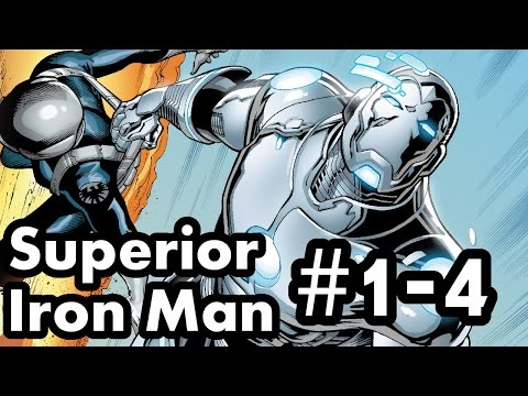 Superior Iron Man #1-4 Recap/Review: Rise of the Inverted Iron Man