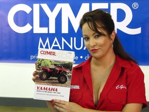Clymer Manuals Yamaha Moto-4 Big Bear Manual YFM350 YFM350FW YFM400 YFM400FM Yamaha ATV Manual Video
