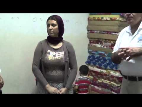 Norooz Foundations Delivers Aid to Yazidis Refugees in Iraq pt6