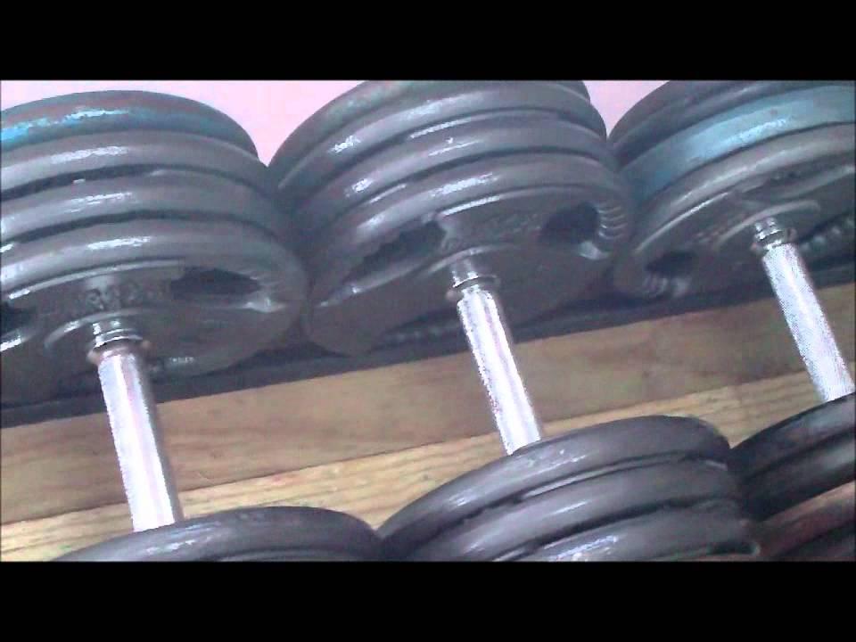 How to make a dumbell rack youtube for Diy dumbbell rack wood