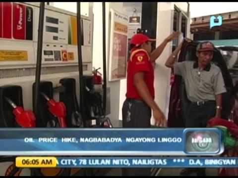 Oil price hike, nagbabadya ngayong linggo