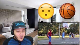 Spiderman Basketball Part 1 REACTION!!