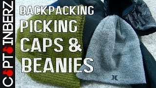 Backpacking Clothing CapsHatsBeanies