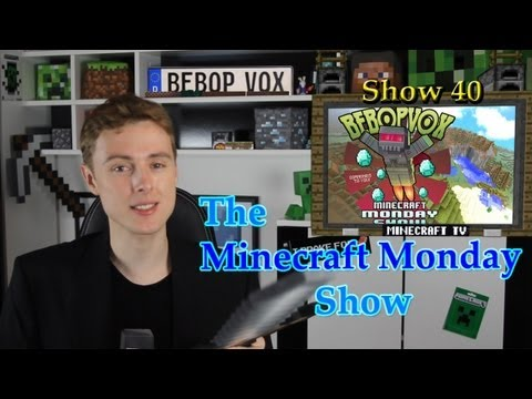 Minecraft Monday Show - Getting You Ready For An Awesome Week! Music Videos