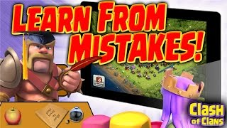 "Clash of Clans ""Learn From the Mistakes of Others"" Avoiding Fails in Clash!"