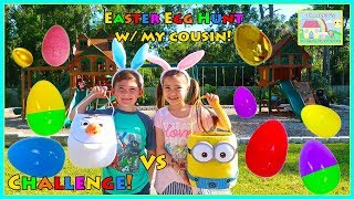 Kids do Eggs Hunt for Easter Egg Surprises Full of Toys!