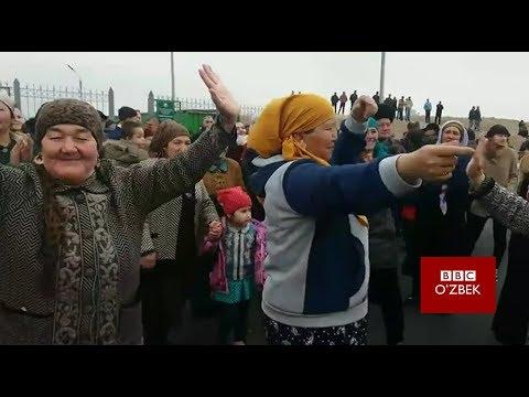 Ўзбекистон ва Тожикистон ўртасидаги чегараларнинг очилиши байрамга айланди - BBCUZBEK.COM