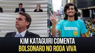Kim Kataguiri comenta Bolsonaro no Roda Viva