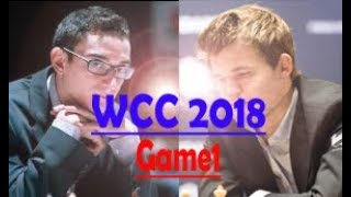 WCC2018 Game 1 Caruana Puts Up A Tremendous Fight With Only 45 Seconds Left On His Clock vs Carlsen