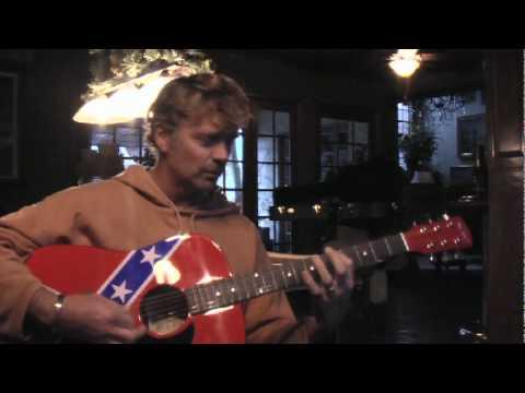 John Schneider (Bo Duke) autograph guitar