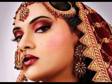 Beautiful bridal eye makeup