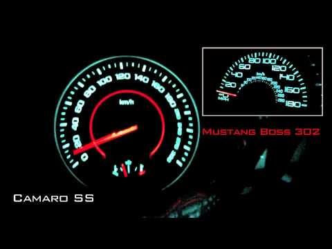 Camaro SS VS Mustang Boss 302 Laguna Seca (Motorsport)
