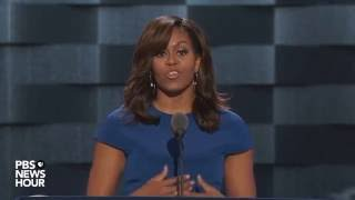 First lady Michelle Obama on bullies: