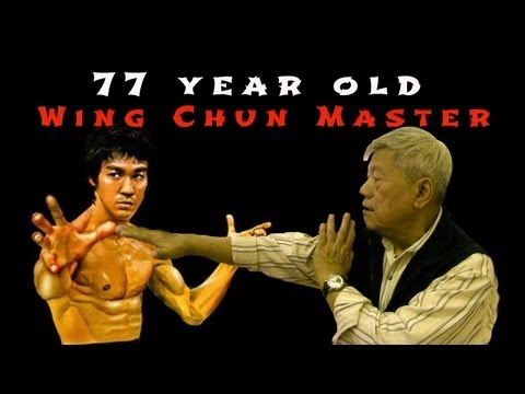 WING CHUN MASTER, 77 YR OLD, TAUGHT BRUCE LEE, HONG KONG Image 1