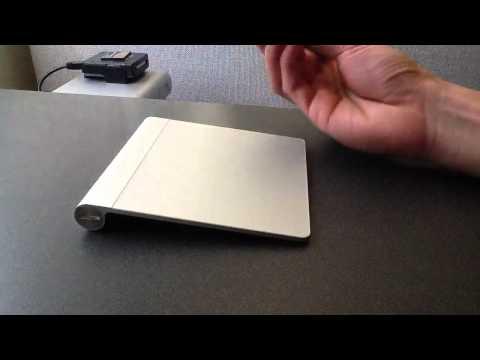 Apple Magic Trackpad Mouse + Touchscreen Stylus Pen