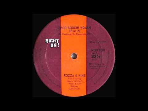 Rozza&Wine - Disco Boogie Woman (pt2 - pt1)