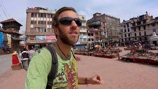Exploring Kathmandu, Nepal: Walking from Durbar Square to Thamel