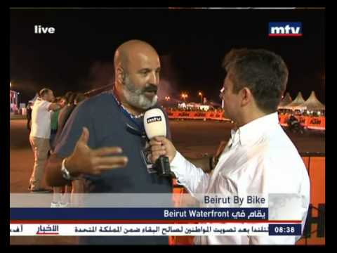 Prime Time News - 19/09/2014 -  Beirut By Bike