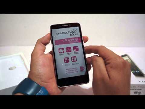 Unboxing Alcatel One Touch Idol