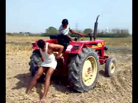 tractor stunts by rana