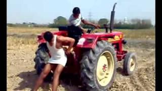 tractor stunts by rana
