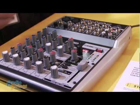 Behringer Xenyx QX1002USB, Q802USB, Q502USB, 302USB Mixers - NAMM 2012 - AudioSavings