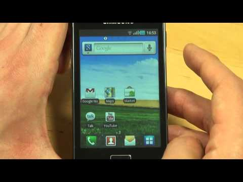 Samsung S5830 Galaxy Ace Test Bedienung