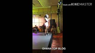 Wendy Shay Twerks For A Pastor At Miss Ghana Finals