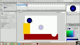 Flash Cs6 AS 3.0 Animasyon Örnekleri 10 (Motion Tween)