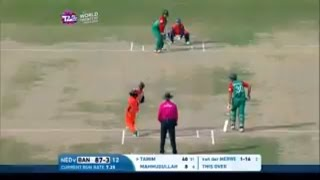 Tamim Iqbal 83 runs of 58 balls Highlights : Bangladesh vs Netherlands ICC T20 2016