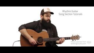Any Ol' Barstool Guitar Lesson and Tutorial - Jason Aldean